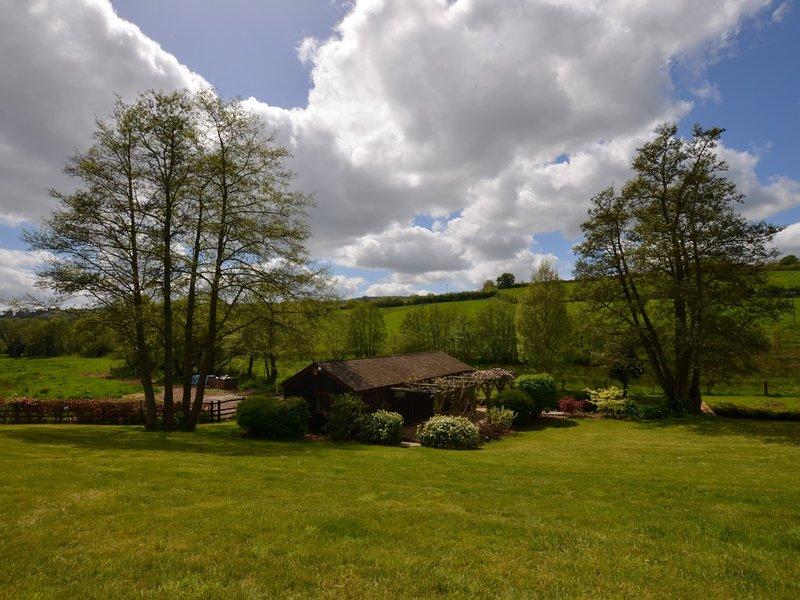 But Lodge transformé en niche dans la vallée d'Ashcombe