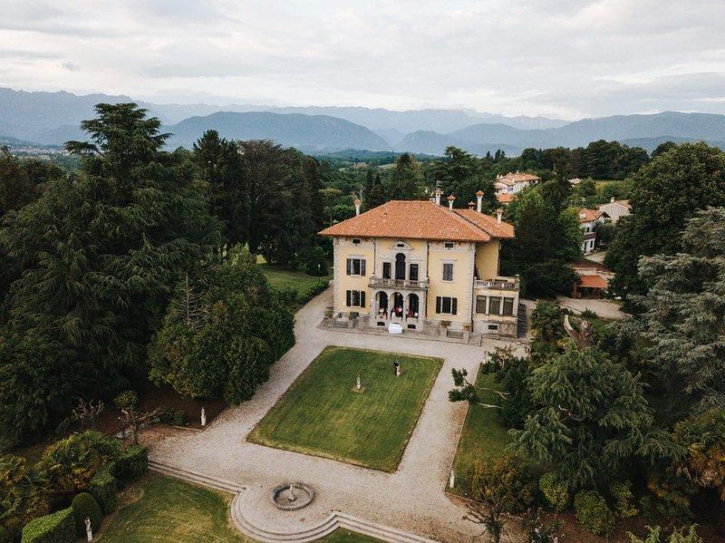 Villa Miotti de Brajda, location de vacances à Nimis