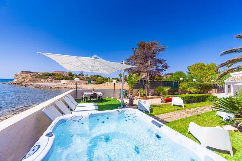 Villa Mamma Afrodite, casa vacanza a Capo Negro