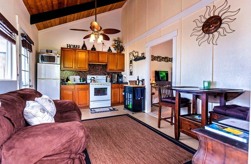 Cocina / comedor / sala de estar
