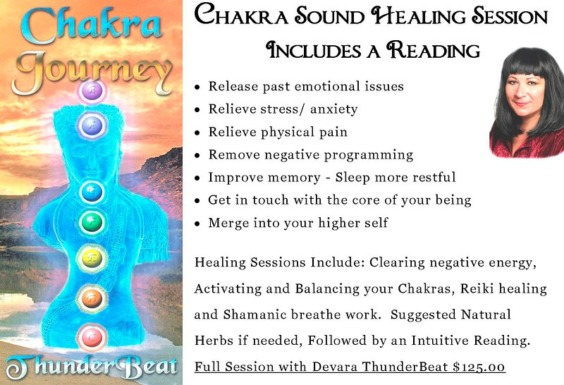 Healing Sessions Available