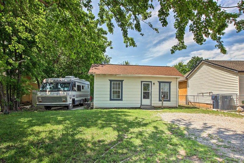 Oklahoma City awaits you at this 1-bed, 1-bath vacation rental house!