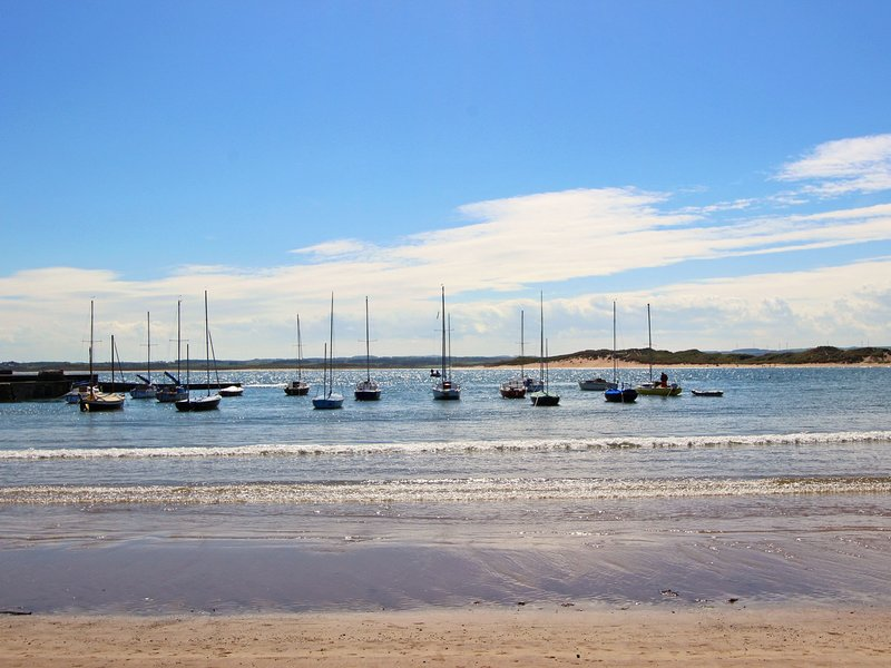 Watch the water sports on Beadnell Bay