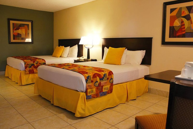 Suites with 2 double beds are available now!