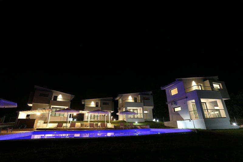 Blue Avenue, Ferienwohnung in Loutra