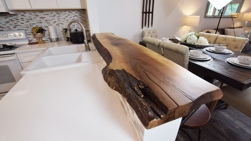 Live Edge Breakfast Bar