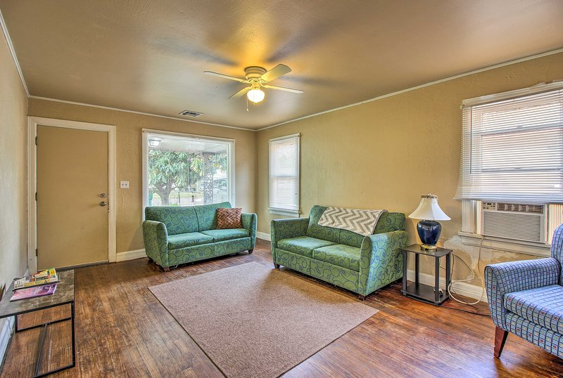 Explore Oklahoma City with ease while staying at this vacation rental apartment!