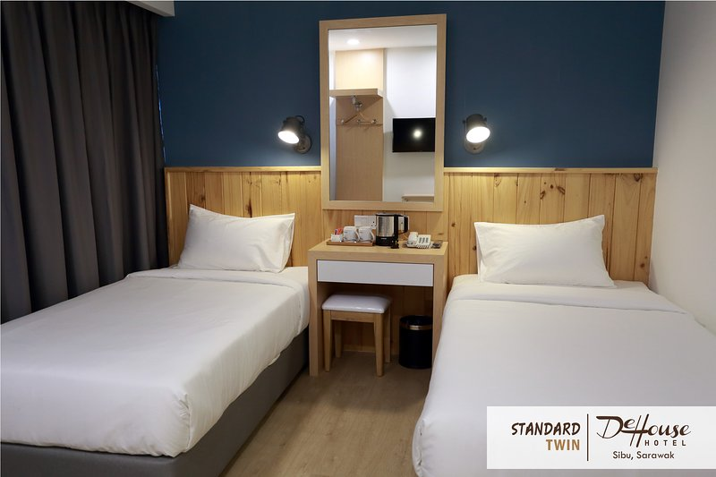 De House Hotel (Standard Twin 1), location de vacances à Sarawak