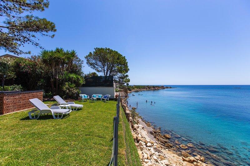 Ecocasetta mit Blick auf das Meer