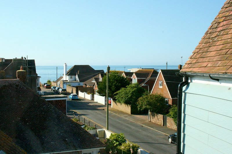 sea views from 2nd bedroom