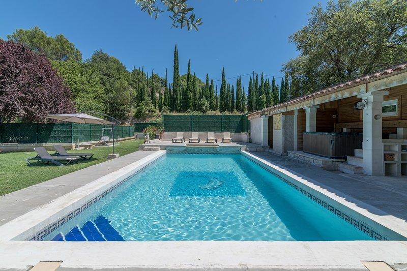 Amazing villa with swimming-pool, location de vacances à Oppède