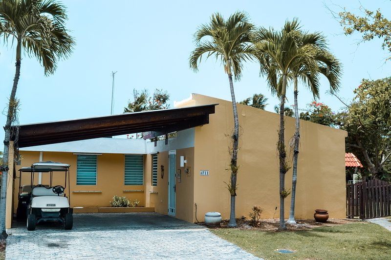 Entrada a Villa Paradisus