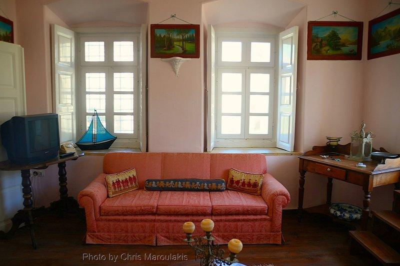 Upper floor living area