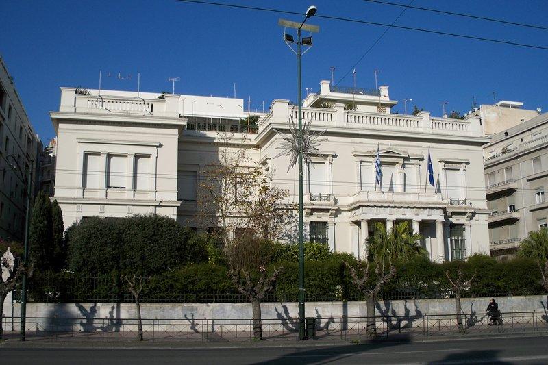 Benaki Museum voor Cycladische kunst ligt op 10 minuten!