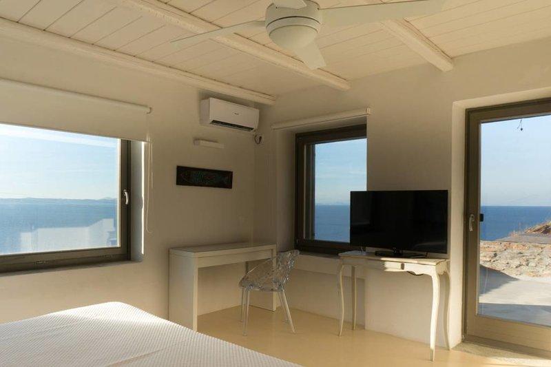 Views from top floor master bedroom