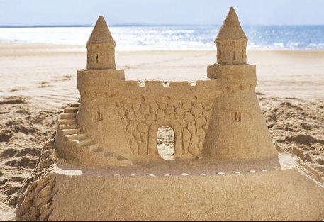 Sand Castle Fun !!!