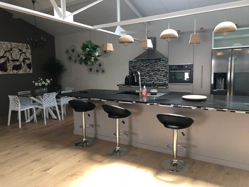 Loft de 120 m2 à 10 mn des plages et de Montpellier, holiday rental in Montpellier