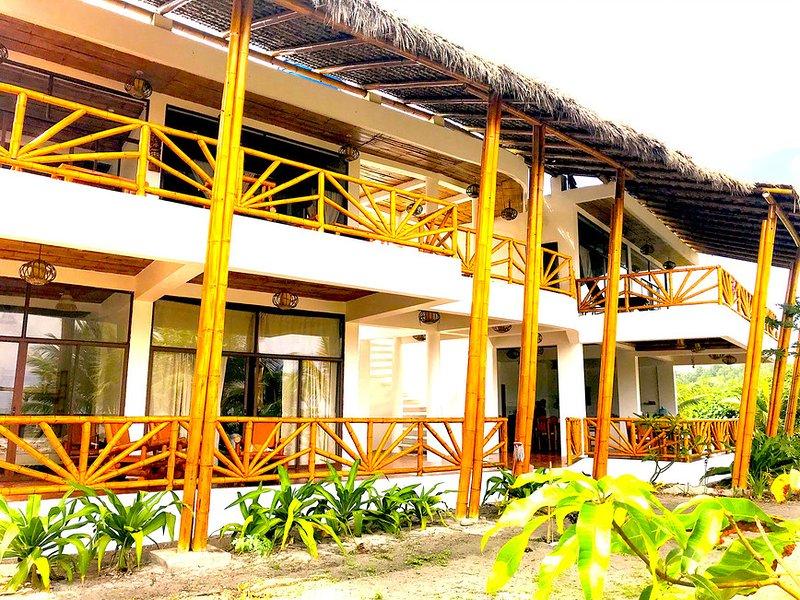 3-Robinson Crusoe's Paradise Tropical Beach, aluguéis de temporada em Província de Esmeraldas