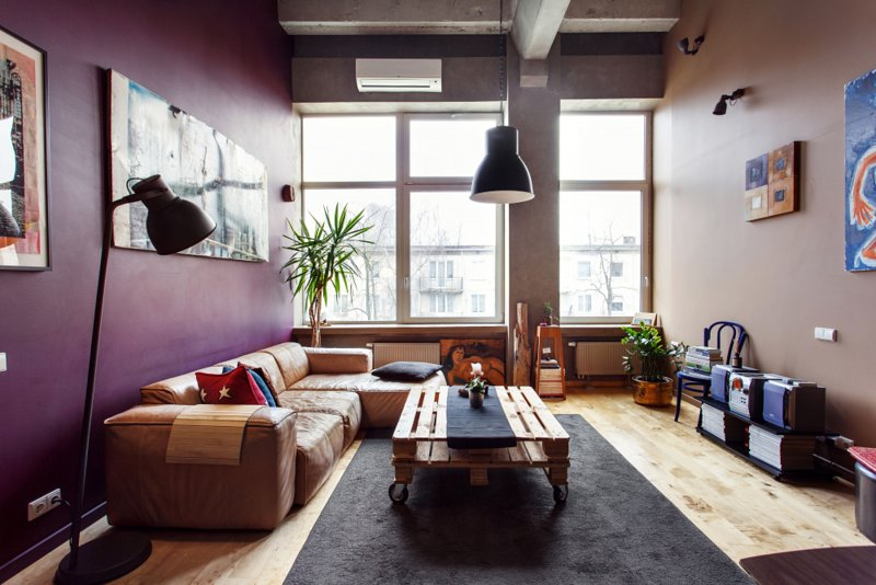 Stylish loft in trendy loft area close to Old Town, location de vacances à Vilnius