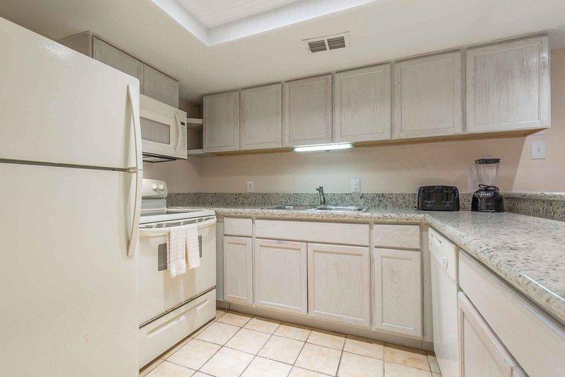 La cocina ha sido completamente remodelada