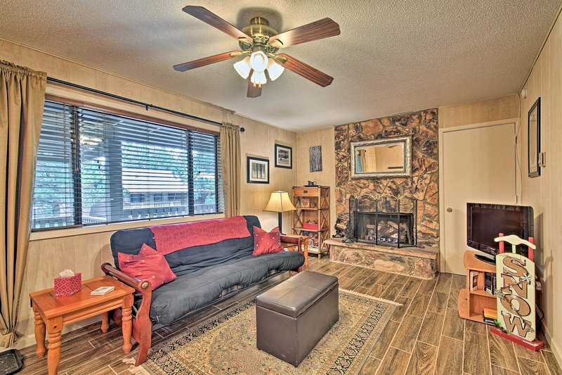 An epic Angel Fire getaway awaits 6 guests at this cozy condo!
