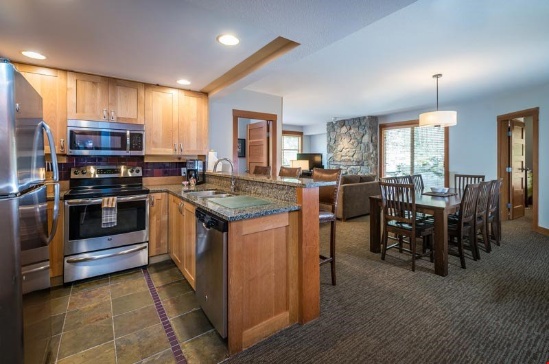 Enjoy your time in Whistler when you stay in this spacious condo.