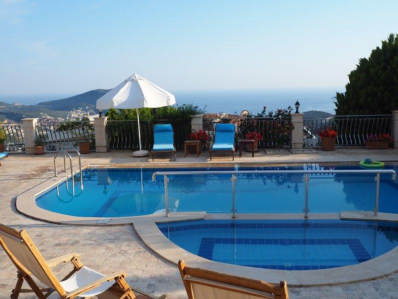 Amazing views over the Mediterranean