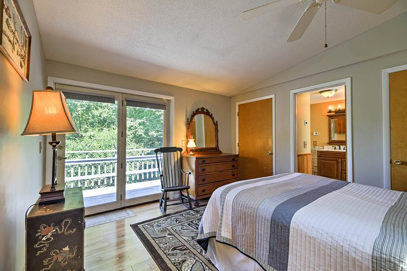 Wake up to sweeping mountain views daily!
