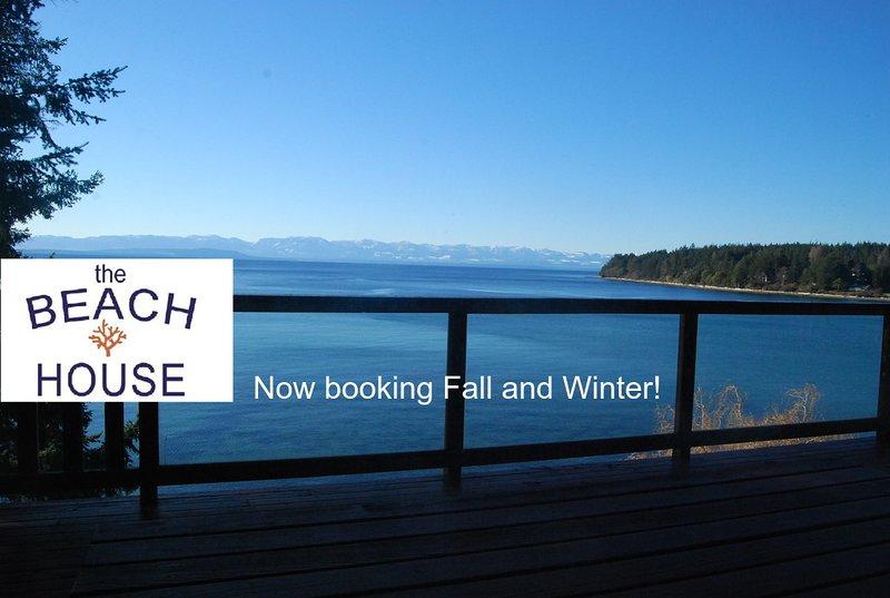 Texada Gillies Bay - View from The Beach House's deck!