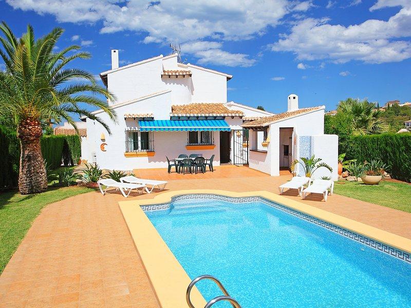 Inma, vacation rental in Rafol de Almunia