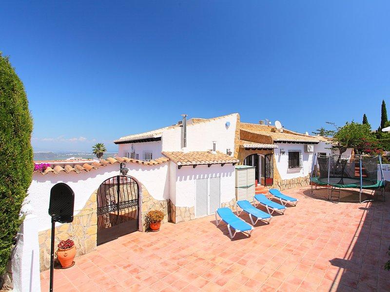 Sorolla, vacation rental in Rafol de Almunia