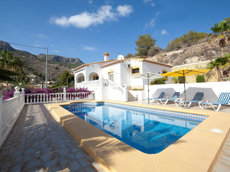 Benicuco, holiday rental in Calpe
