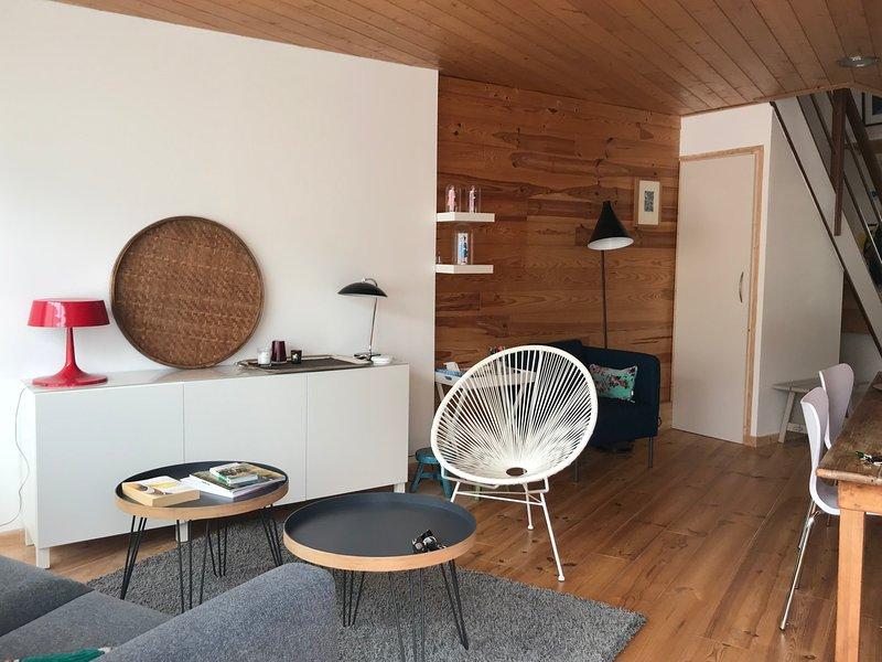 Amazing house with terrace & Wifi, location de vacances à Brignogan-Plage