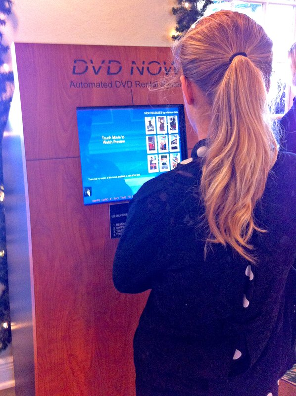Free DVD rental for all guests