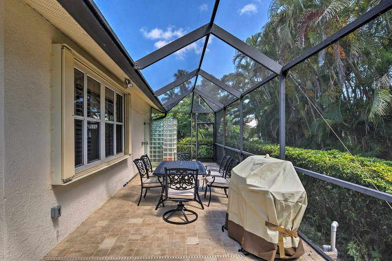 Boasting 3 bedrooms and 2.5 baths, the house accommodates 8 travelers.