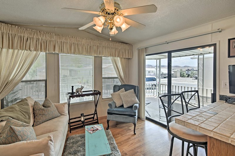 Your Lake Havasu holiday begins at this vacation rental steps from the lake.