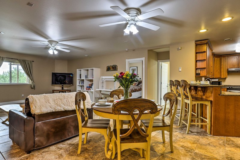 This spacious unit has been completely renovated!