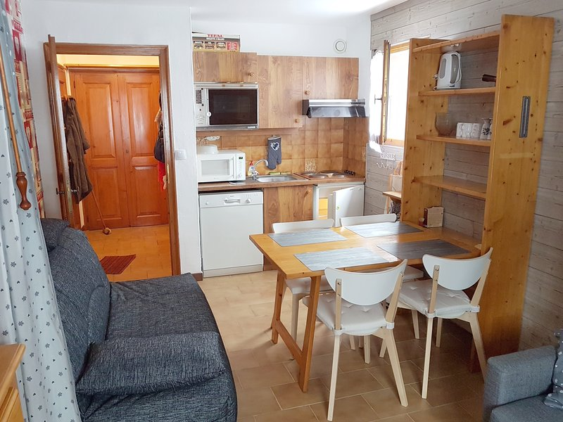Studio - 600 m from the slopes, holiday rental in Demi-Quartier