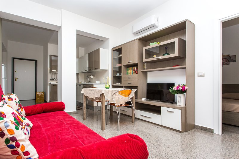 A suite in the center of Paola, Via Mannarino, 45.
