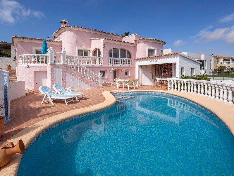 Villa Fortuna, vacation rental in Muntanya la Sella
