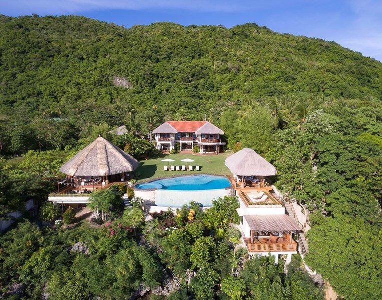 Ultimate Dream Villa in Bohol Philippines - Pure Shores Villa, holiday rental in Jagna