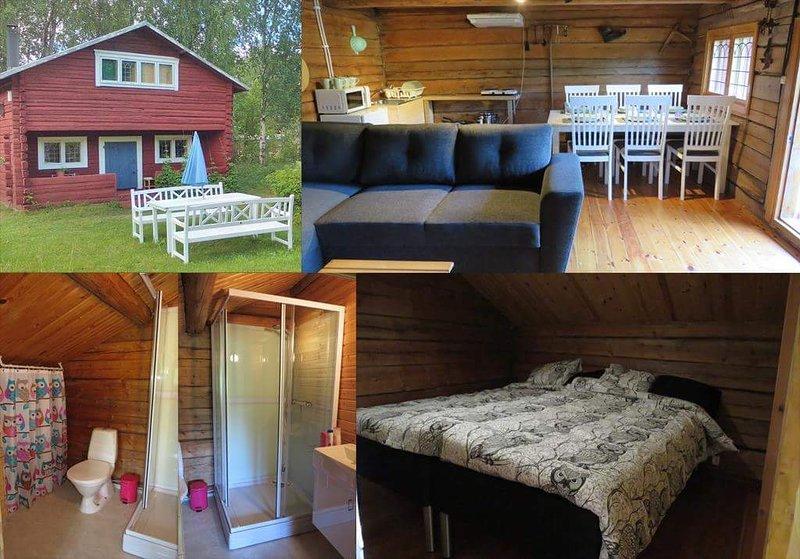 Cozy Lodge in the heart of Lapland, location de vacances à Overkalix
