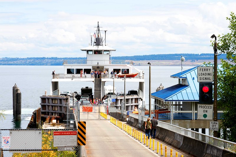 Hop on the ferry to explore Tacoma or Seattle!