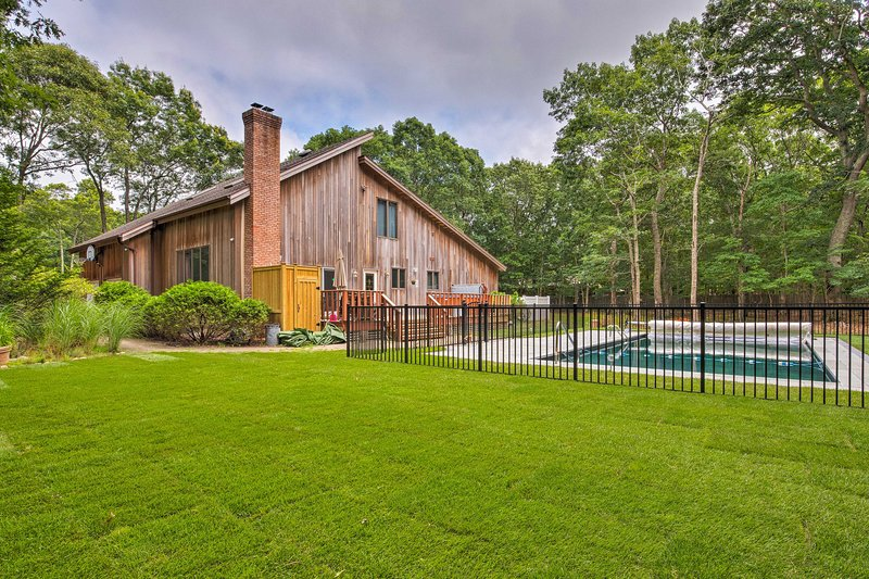 Enjoy East Hampton from this ideally situated home steps from the beach!