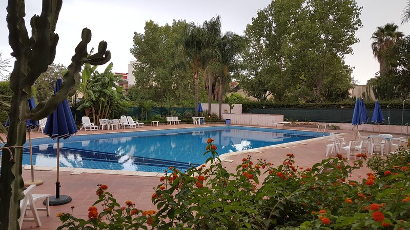 A wonderful swimming pool for relaxing holidays