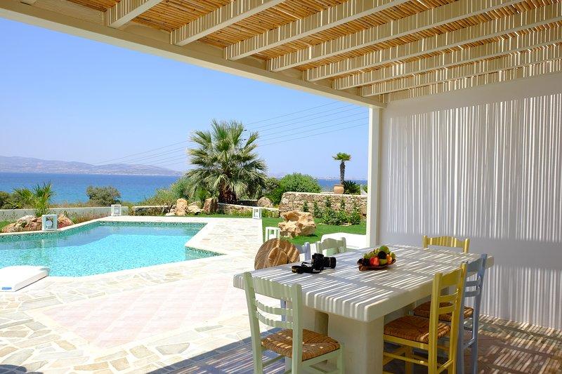 Valea Villa Naxos with Private Swiimming Pool, aluguéis de temporada em Naxos