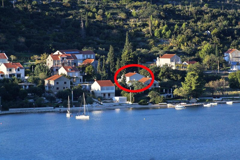 One bedroom apartment Slano, Dubrovnik (A-8599-a), holiday rental in Slano