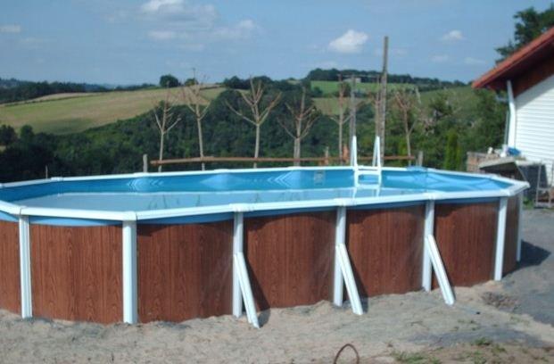 Nice villa with swimming-pool, vacation rental in Osserain-Rivareyte