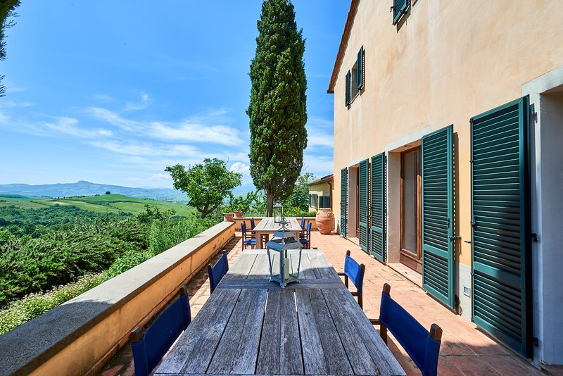 Casale Podere i Prati - Azienda agricola biologica in Val d'Orcia, holiday rental in Chianciano Terme