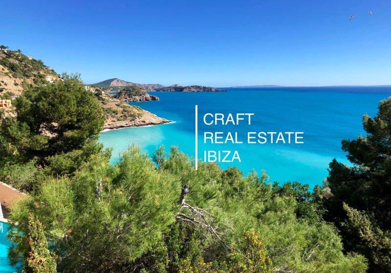 ET-0736-E Frontline sea luxury villa; Villa Perla, aluguéis de temporada em Sant Josep